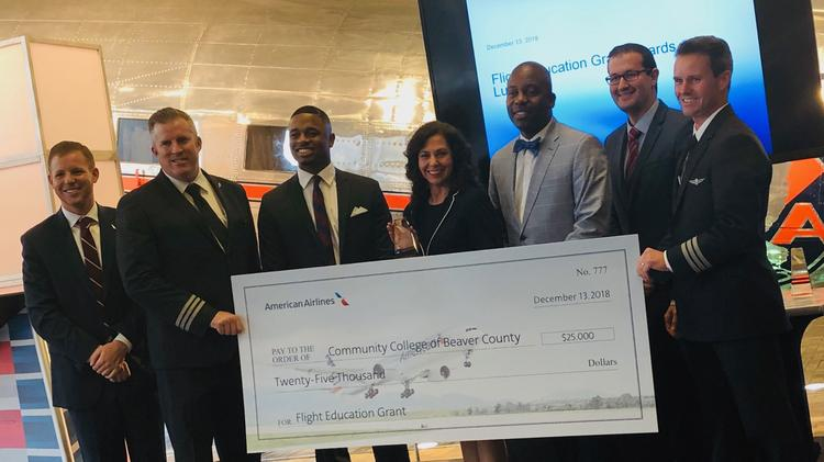 Community College of Beaver County gets American Airlines