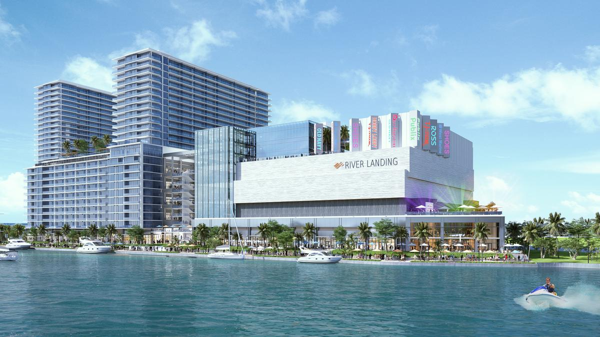 outdoor office space google river landing shops residences in miami adds office space reduces retail south florida business journal