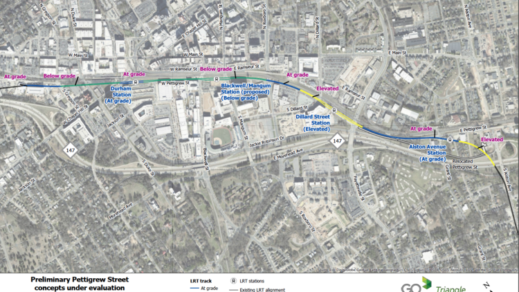 documents detail downtown durham light rail tunnel s hefty price tag