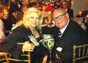 Cathi (left) and Ken Hatch were among the revelers at the Museum of Flight gala.