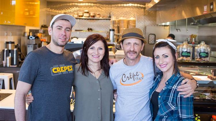 Dealing with fast growth: How Crepe Crazy's owners stay sane