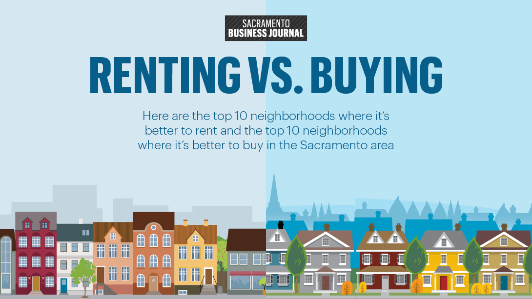 Best Neighborhoods To Rent Vs Buy Sacramento Business Journal