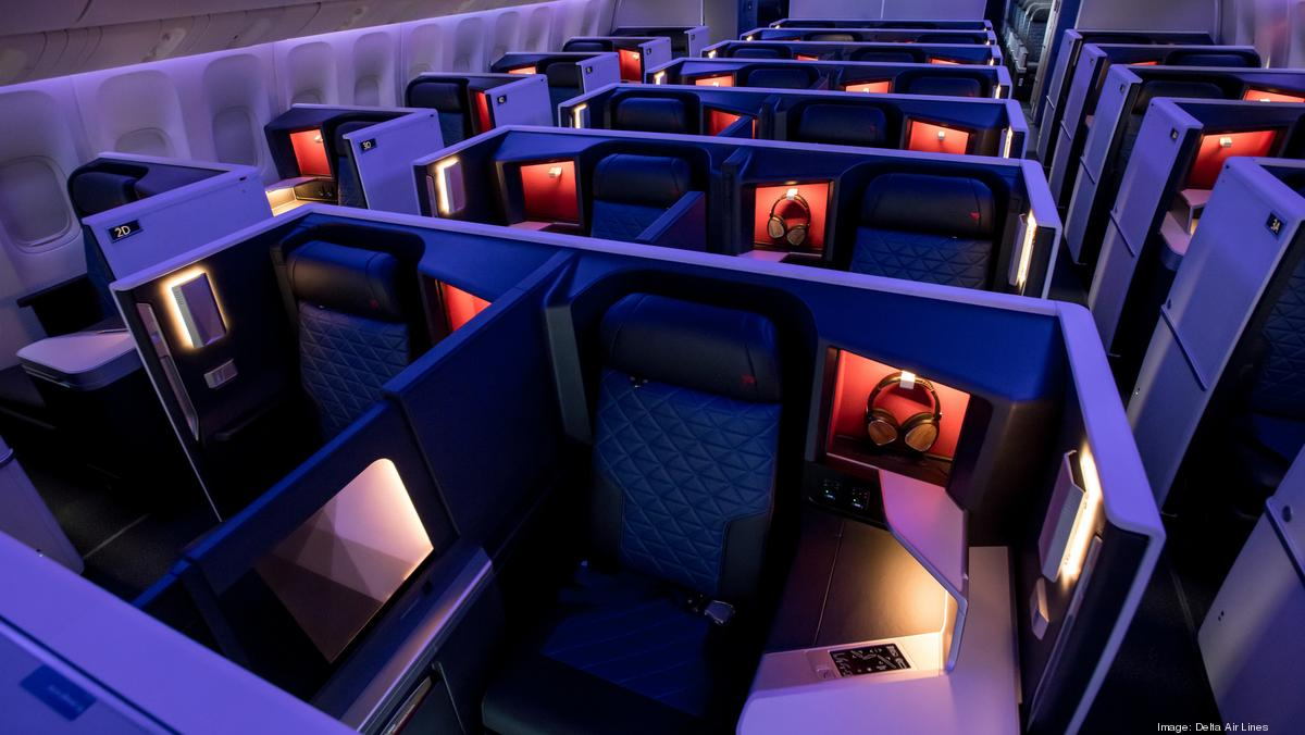 Delta Air Lines Caps First Class Seating In Newest Round Of Reductions Atlanta Business Chronicle