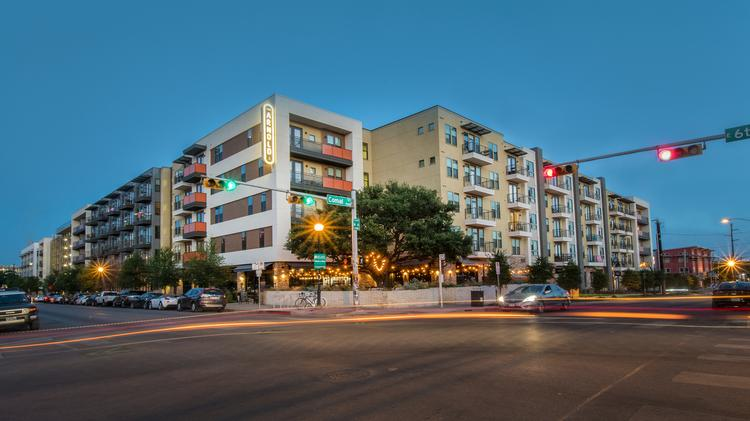 Global Real Estate Investor S East Austin Apartments