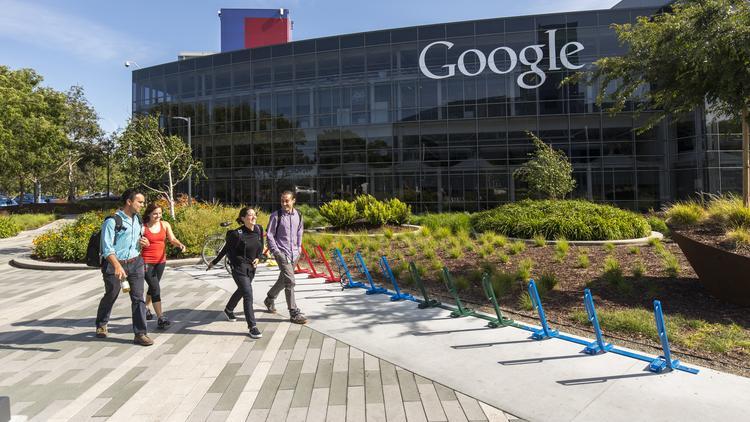 Median pay at big Bay Area tech employers like Netflix