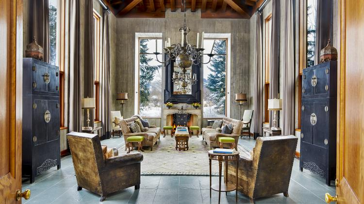 Former North Face Exec S Aspen Home That Took 5 Years To Build Is Up For Auction Dallas Business Journal