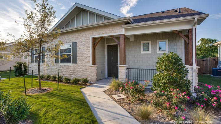 The exterior of one of NexMetro Communities' Avilla homes. The company will launch three new communities in Denver by mid-2020.