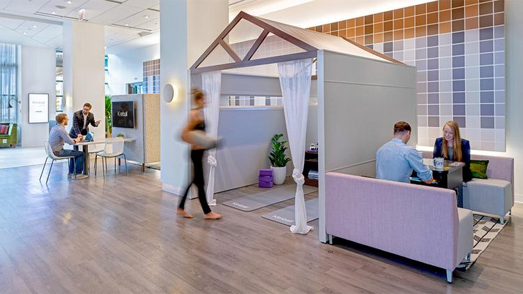 Workplace design impacts employee well-being and creativity