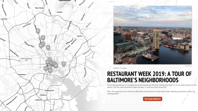 Baltimore City Restaurant Week Preview