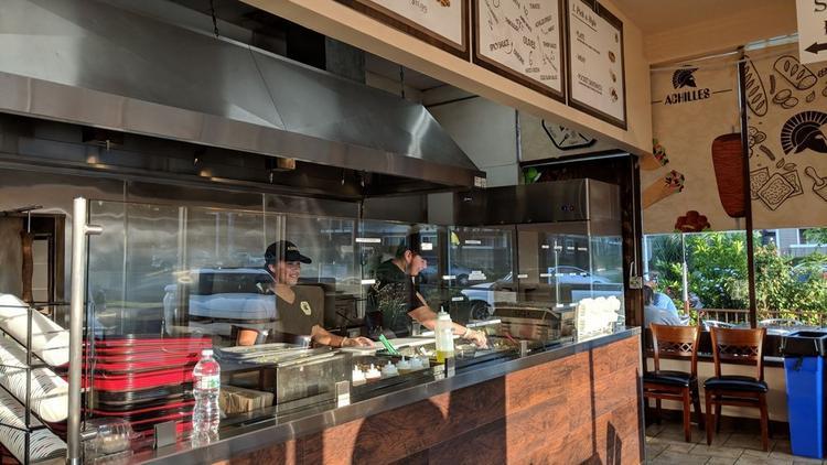 Santa Clara Mediterranean Restaurant Achilles Named In