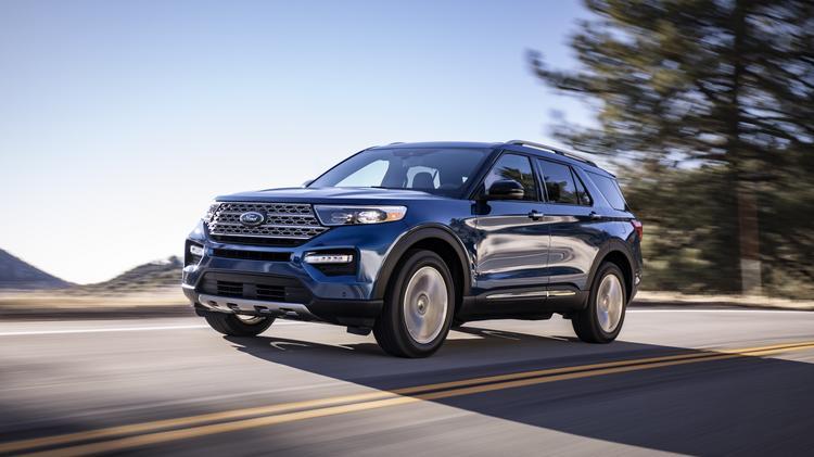 2020 Ford Explorer: Redesign, Engines, Arrival >> Redesigned 2020 Ford Explorer Finally Breaks Cover Atlanta