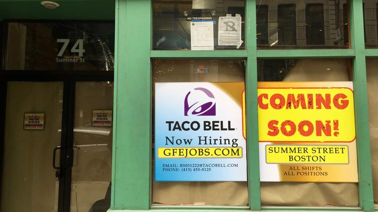 Taco Bell Opening Downtown Boston Location Boston Business Journal