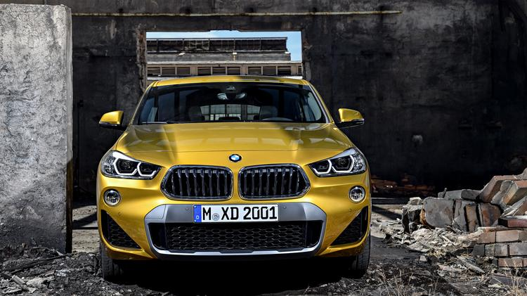 The 2019 Bmw X2 And The Case Of Deletion Heavy Design Quality