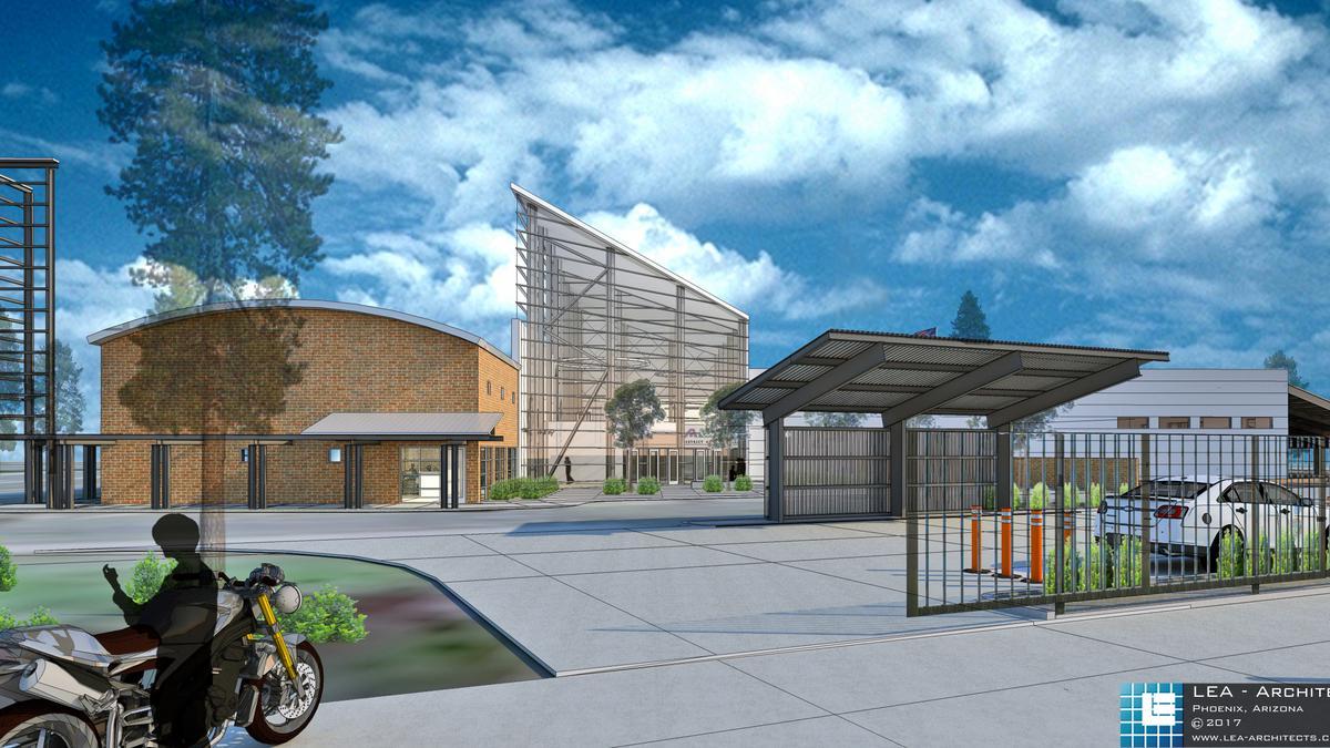 Phoenix To Flagstaff >> Land Swap Will Turn Flagstaff Theater Into Offices Phoenix