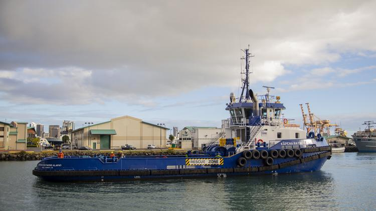 Young Brothers adds second Tier 4 tugboat, the Kapena
