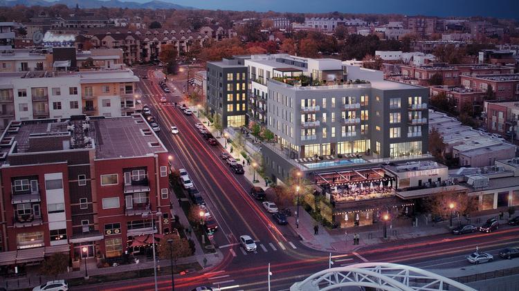 13351ef18da A 132-unit apartment building has broken ground in Denver s Lower Highland  neighborhood.