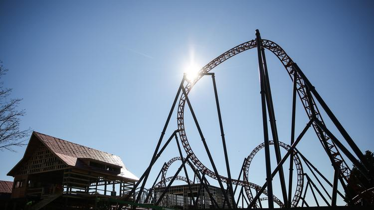 Sneak peek at Carowinds' latest roller coaster, expansion