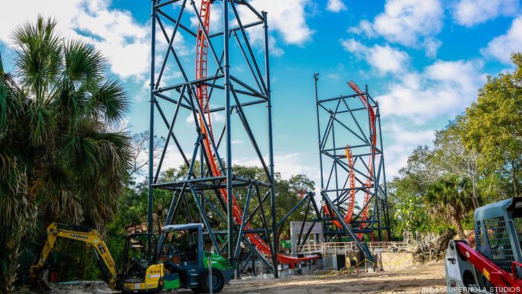 Busch Gardens Legoland Make Major Strides On Gwazi Tigres And
