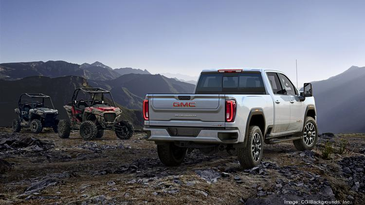 2020 Gmc Sierra Heavy Duty Debuts By Pulling 225 000 Pounds At San