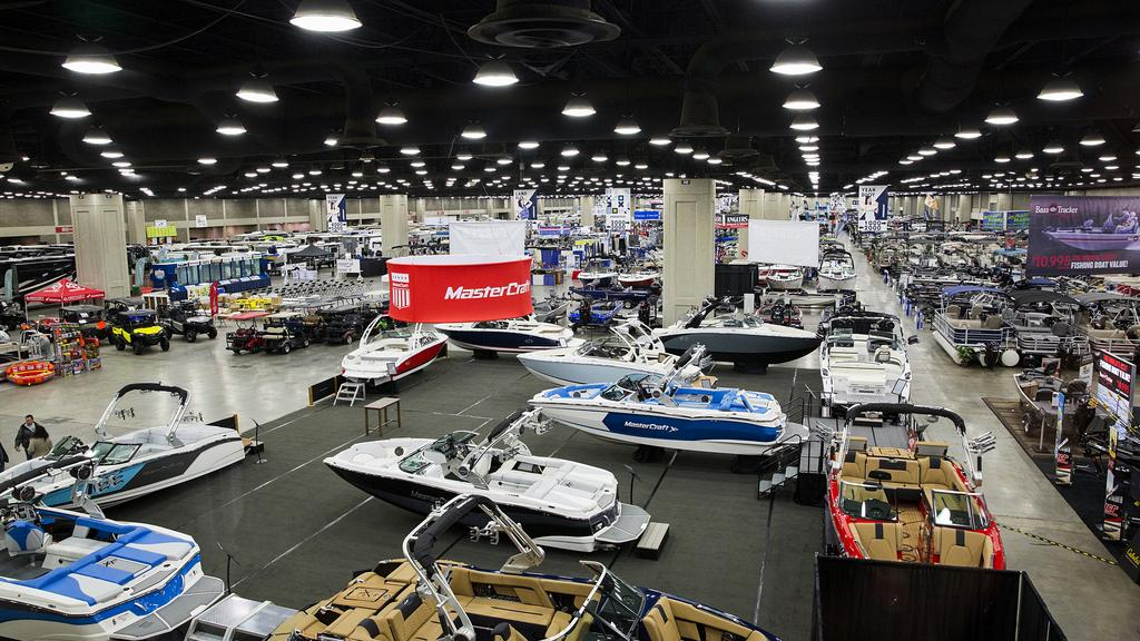 Boat, RV & Sportshow opens at Kentucky Expo Center