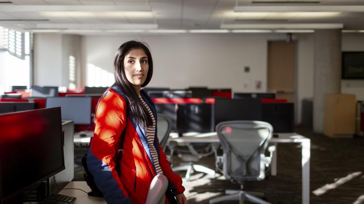 Aafia Ahmad A Sopre And Computer Science Major At The University Of Texas Austin