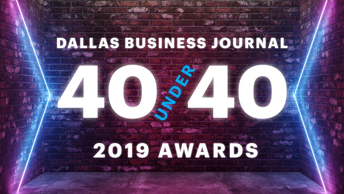 DFW's top young leaders honored at 40 Under 40 event