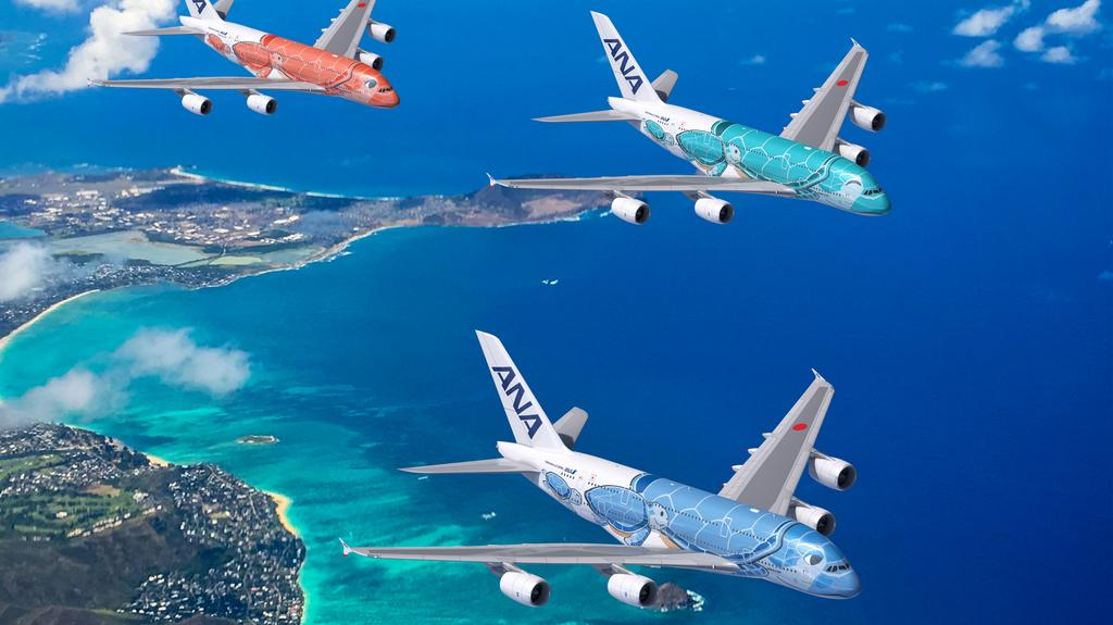 ANA takes delivery of second 'Flying Honu' A380 for Hawaii service ahead of schedule