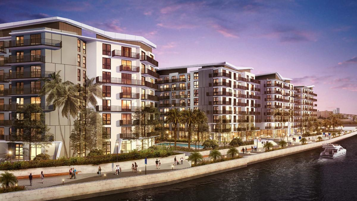 Apartment Project On Miami River To Break Ground With 60m Construction Loan