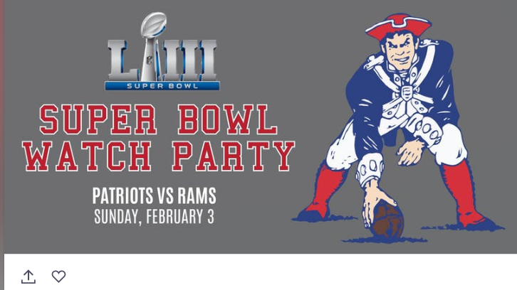 Where to watch the Super Bowl around Boston this weekend