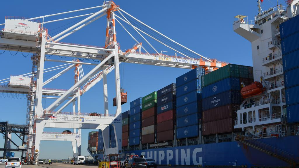 Port Tampa Bay container companies launch new joint direct service to Asia