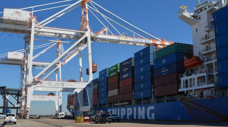 Cosco enters Port Tampa Bay, marks the start of