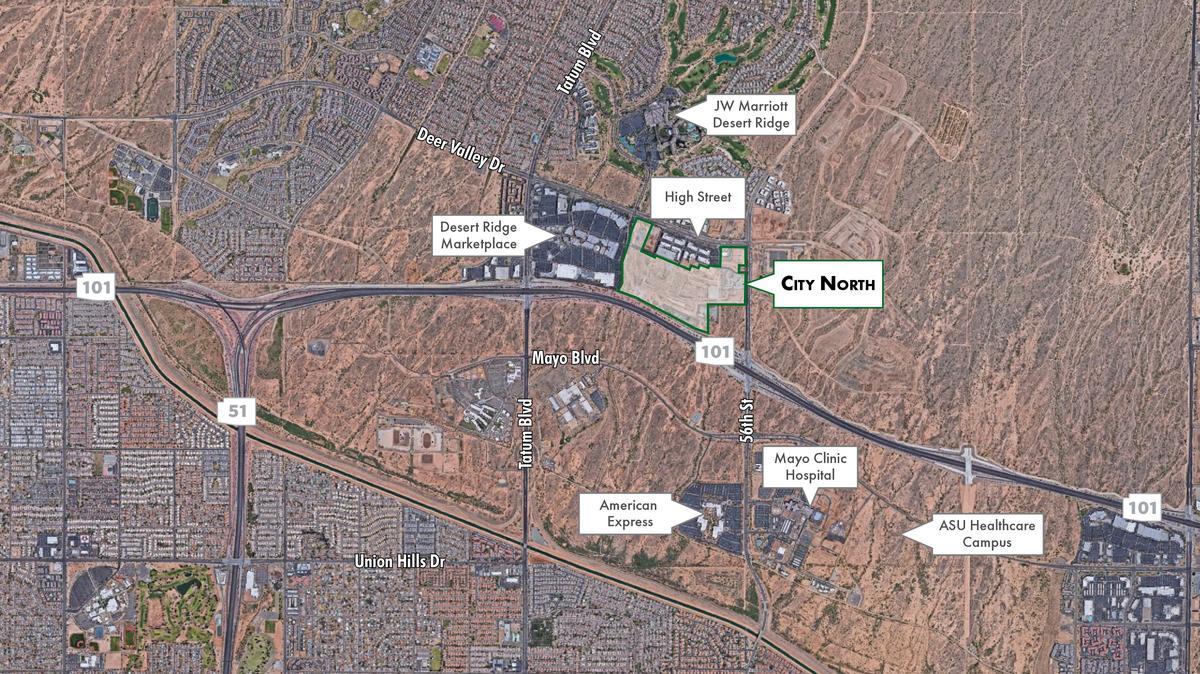 desert ridge mall map Developer Massive Phoenix Project Still A Go Despite Ceo Guilty desert ridge mall map
