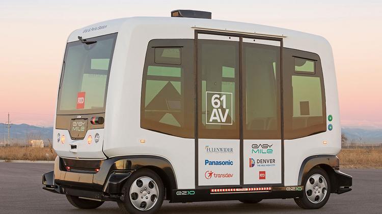 Denver RTD launches autonomous shuttle near airport - Denver
