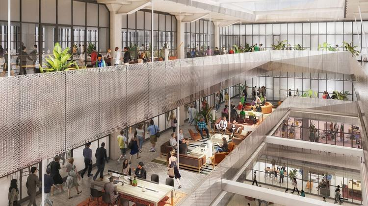 The transformation of the former Midtown Sears building into The Ion will incorporate some of the signature art deco architecture elements of the original 1939 building and will add large windows and a central light-well.