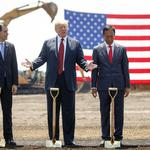 ​Trump touted a Foxconn factory was coming to Wisconsin. But now it's in doubt.