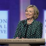 The Hillary <strong>Clinton</strong> conundrum: Two words women-in-business groups aren't ready to utter