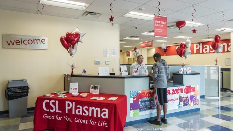 CSL Plasma opens new center in Miami - South Florida