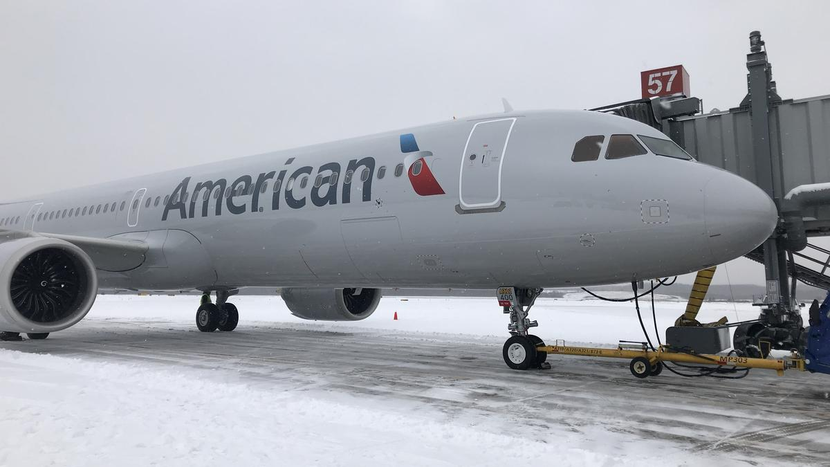 american airlines takes delivery of airbus a321neo