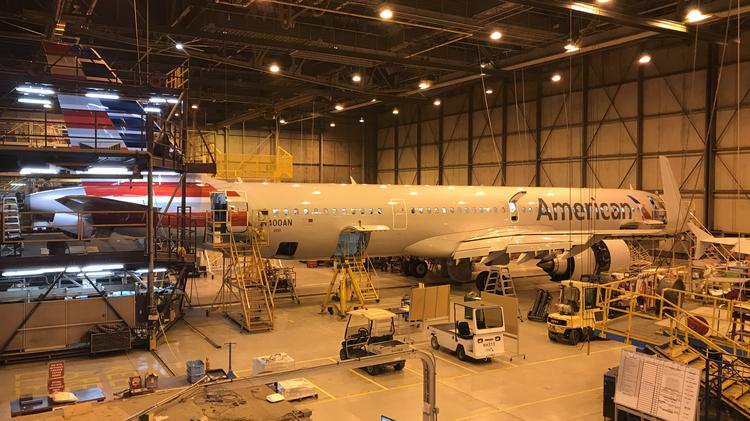 Look inside the Airbus A321neo - Pittsburgh Business Times