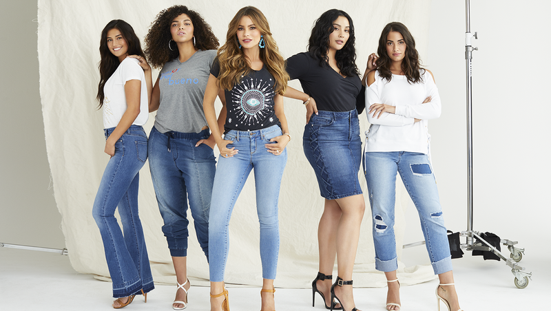 7435f34753 Sofia Vergara's Walmart new denim line encourages women to 'work what they've  got