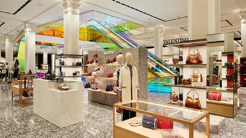930a6366fe0 Saks Fifth Avenue reveals new ground floor at flagship store - Bizwomen