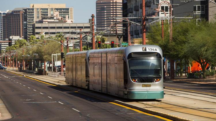 Valley Metro light rail has been a boon for development along the Central Avenue corridor