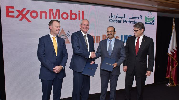 Exxon and Qatar's Golden Pass LNG project to move forward