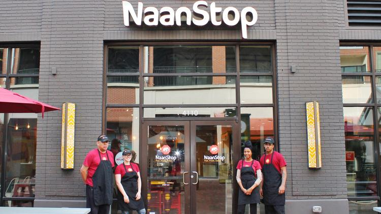 Indian Restaurant Naanstop Opens Flagship Location At