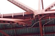 The damage done to the Mathews Bridge
