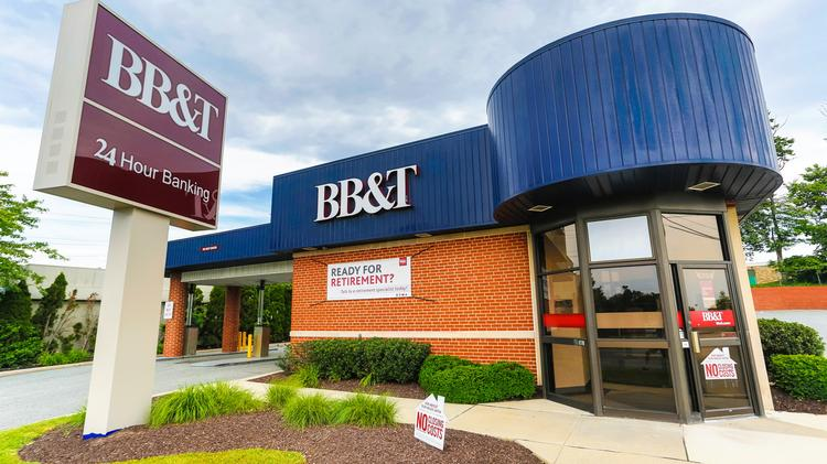 Mapping which BB&T, SunTrust branches in Greater Baltimore might