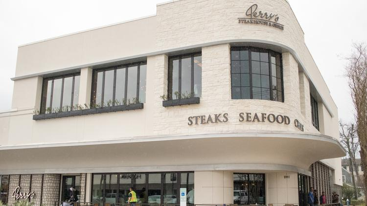 Perry's Steakhouse & Grille River Oaks opens its new flagship location on Feb. 11.