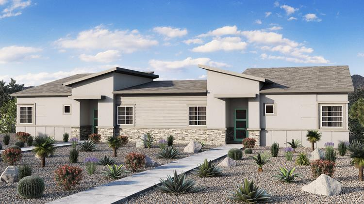 A rendering of an 85-unit project Avenue North LLC plans to build at 16th Street and Baseline Road in Phoenix.