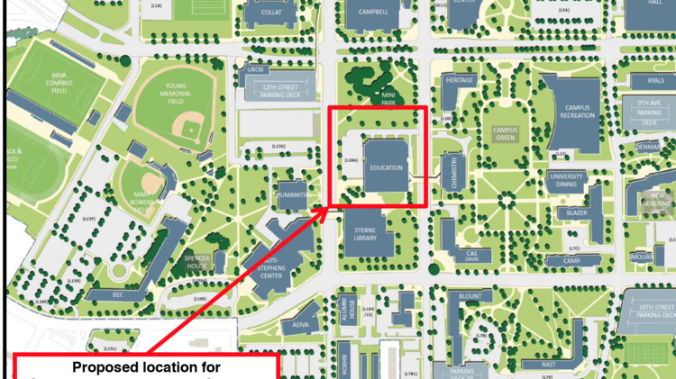 UAB eyes new science and engineering complex in Southside ...