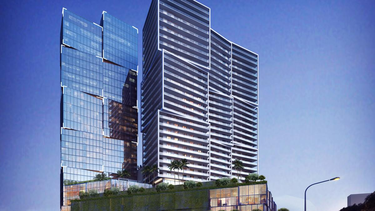 Billionaire Jeff Greene starts building One West Palm tallest building in Palm  Beach County - South Florida Business Journal
